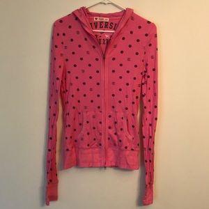 New in bag RARE 2007 Pink zip front hoodie